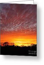 Highway 61 Sunset Greeting Card