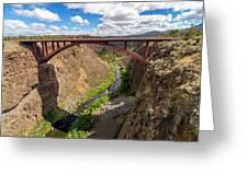 Highway 97 Bridge Greeting Card