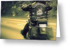 Highway Flyer Greeting Card