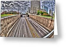 Highway Into St. Louis Greeting Card