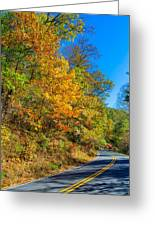 Highway Of Brilliance Greeting Card