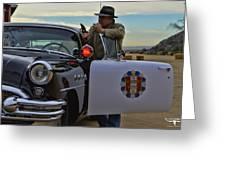 Highway Patrol 6 Greeting Card