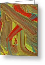 Highway To Abstraction Greeting Card