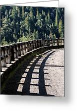 Highway To Nowhere Greeting Card