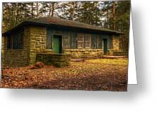 Hiker's Rest Greeting Card