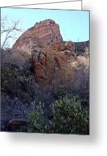 Hiking Estes Canyon Greeting Card