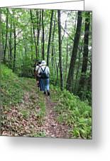 Hiking Group Greeting Card