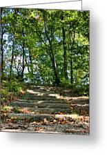 Hiking In Virginia Kendall Greeting Card by Kristin Elmquist
