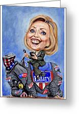 Hillary Clinton 2016 Greeting Card