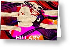 Hillary Clinton 2016 Greeting Card