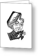 Hillary Clinton Debate Greeting Card