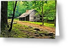 Hillbilly Heaven Greeting Card