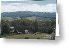 Hills In Tennessee Greeting Card