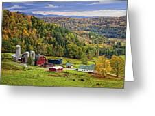 Hillside Acres Farm Greeting Card
