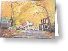 Hillside Avenue Staten Island Greeting Card