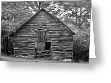 Hillside Barn Greeting Card