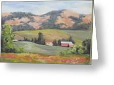 Hillside Farm Greeting Card