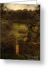 Hillside Sanctuary Greeting Card