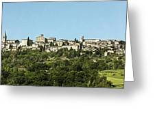 Hilltop City Greeting Card