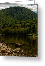 Hilltop In The Berkshires Greeting Card