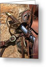 Hilt And Handle Greeting Card