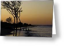 Hilton Head Sunset Greeting Card