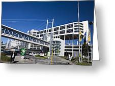Hilton International Airport Hotel Melbourne Greeting Card