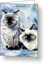 Himalayan Duo Greeting Card