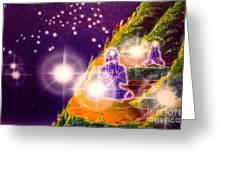 Himalayan Yogi's Greeting Card