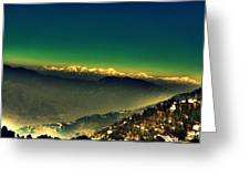 Himalayas Greeting Card