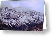 Himalayas Greeting Card