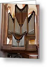Himmerod Abbey Organ Greeting Card
