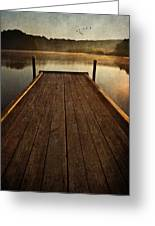 Hinckley Lake Sunrise Greeting Card