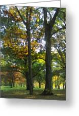 Hint Of Autumn Greeting Card