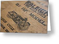Hints On A Raleigh Greeting Card