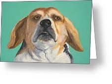 His Beagleness Greeting Card