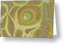 His Navel Australian Aboriginal Greeting Card