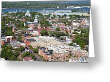 Historic Annapolis Maryland Greeting Card
