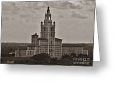 Historic Biltmore Hotel Greeting Card