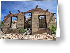 Historic Building Nine Mile Canyon - Utah Greeting Card