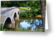 Historic Burnside Bridge Greeting Card