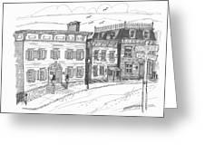 Historic Catskill Street Greeting Card