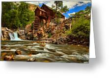 Historic Colorado Landscape Greeting Card