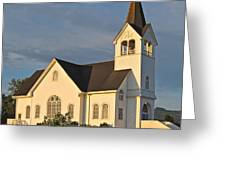 Historic Country Church Art Prints Greeting Card