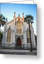 Historic Downtown Church Greeting Card