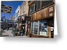 Historic Downtown Truckee California Greeting Card