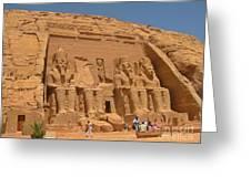 Historic Egypt Greeting Card