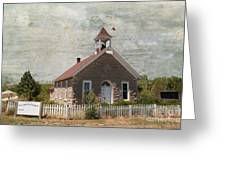 Historic Hinerville School  House  Greeting Card