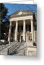 Historic Limestone County Courthouse In Athens Alabama Greeting Card