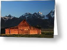 Historic Moulton Barn Greeting Card